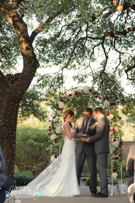 wedding dress with keyhole back I do moment