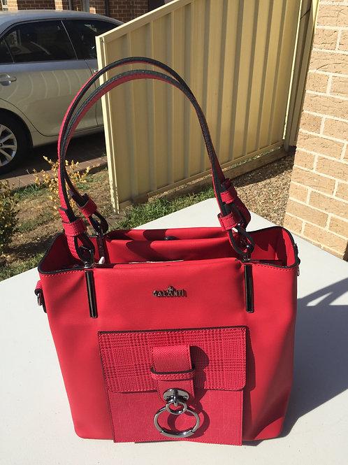 Red Ladies Handbag