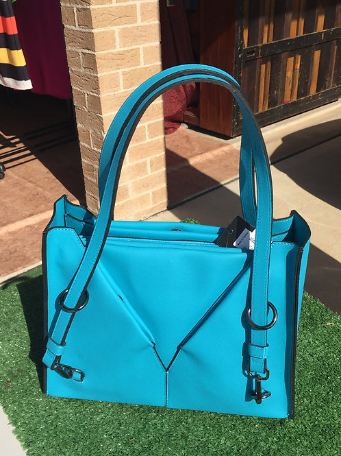 Blue Ladies Handbag