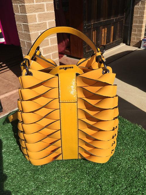 Yellow Square Ladies Handbag