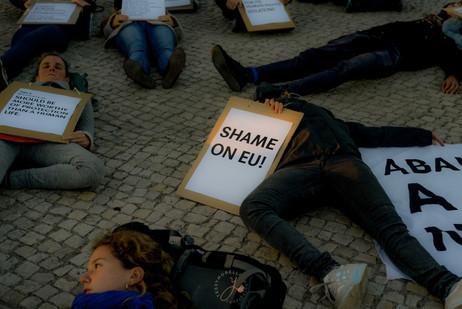 SHAME ON EU - Lisboa
