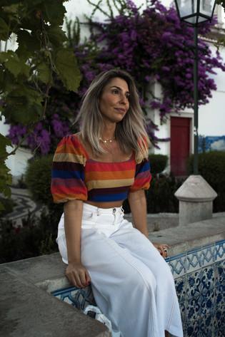Gianna from Brazil - Lisbon - miradouro S.ta Luzia