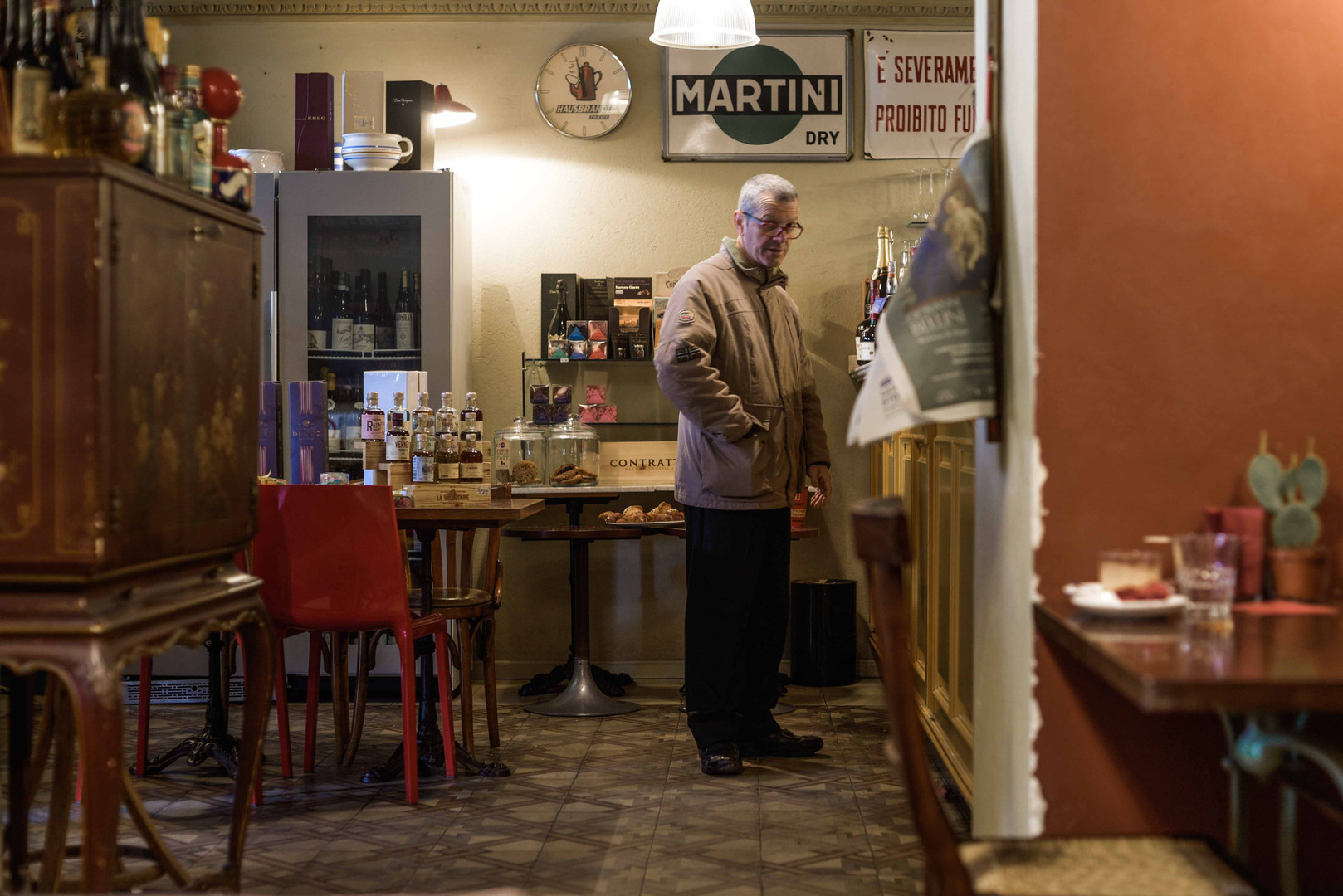 Man at the bar - Alessandria