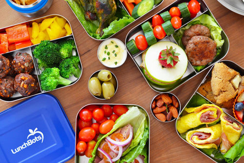 Inspiration for your child's packed lunch