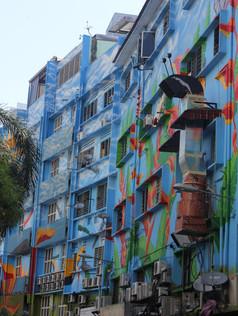 Colourful Apartments In Bukit Bintang