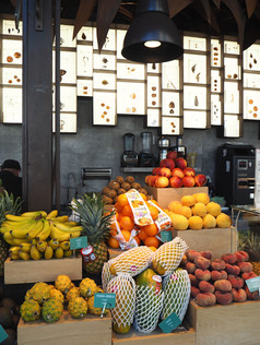 Fruit Stall At Mercado De San Miguel