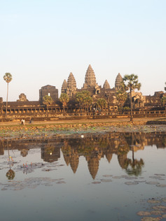 Reflections Of Ankor Wat