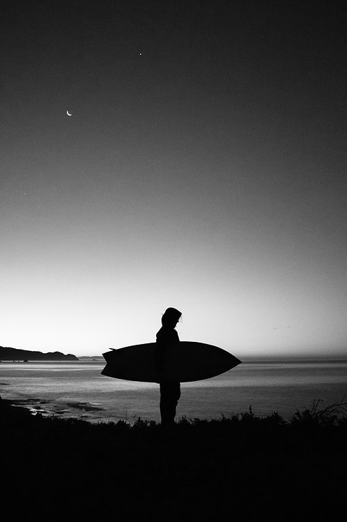 Surf Check BW