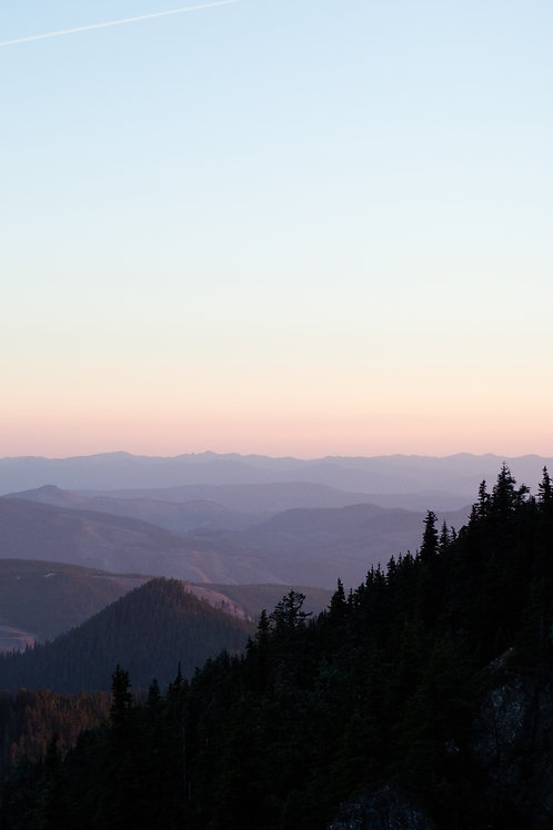 Purple Cascades