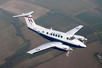 Royal_Air_Force_King_Air_B200_Training_A