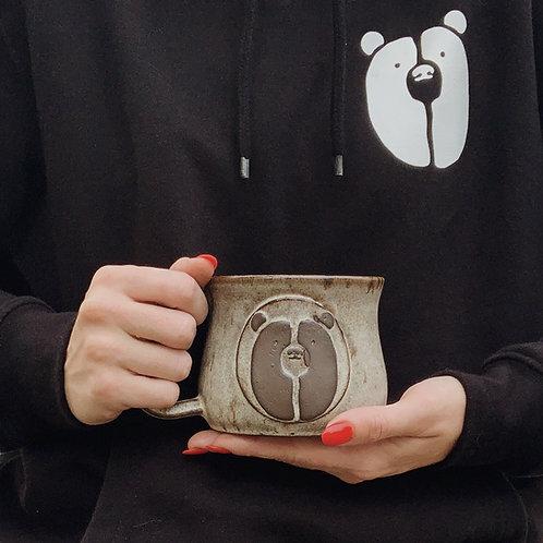 Hand Thrown Black Bear Coffee Co. Mug