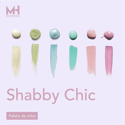 Paleta de color Shabby Chic
