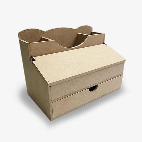 Organizador con tapa y cajón