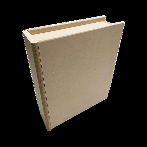 Caja libro con cajón