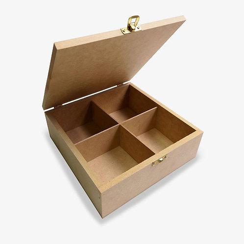 Caja con saque cuadrado