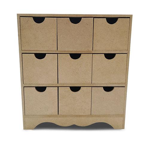 Caja multi 9 cajones