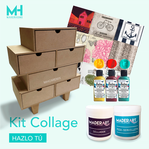 Kit Collage con caja
