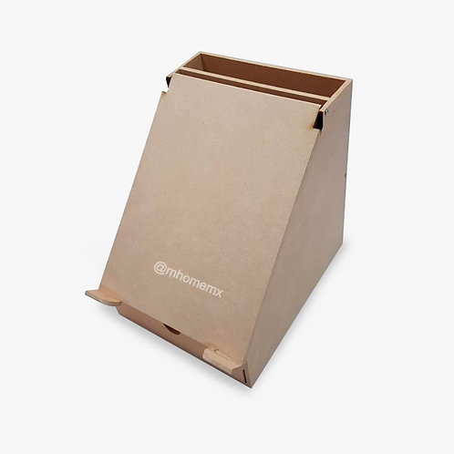 Porta tablet con cajón