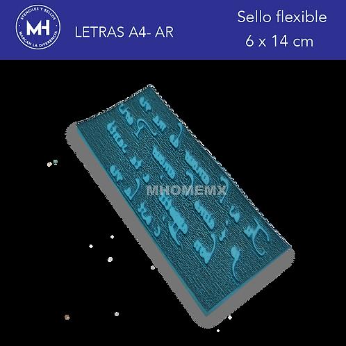 LETRAS A4 -BR