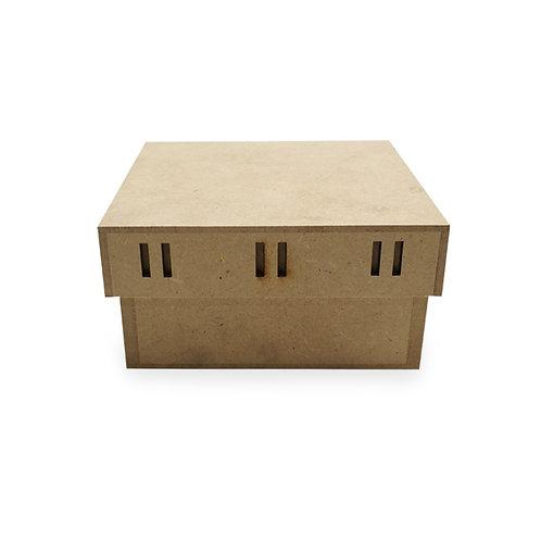 Caja pasa listón 12.5x12.5