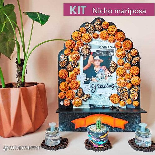 KIT Nicho mariposa - día de muertos
