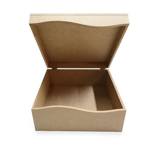 Caja con tapa olan