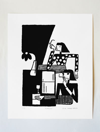 Cecile-Mirande-Broucas-Serigraphie-Fumeu