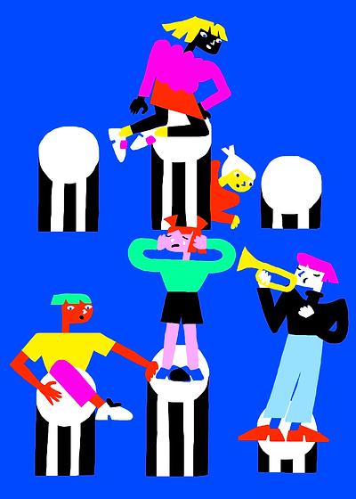 illustration_364_enfants_colonnes_buren.