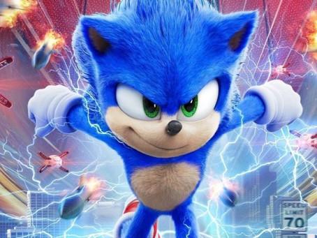 Sonic lidera a Bilheteria nos Cinemas!