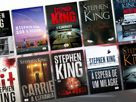 Indicação de Leitura: Coleção Stephen King - Parte 1 de 3