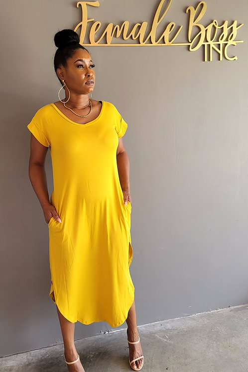 VIBE KNOT DRESS OR TOP