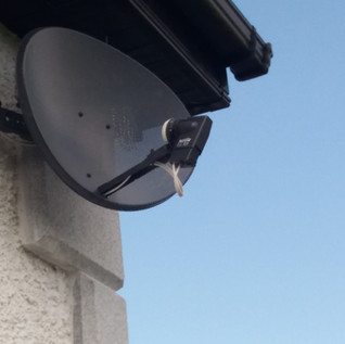 SKY SATELLITE DISH FULL INSTALLATION INCLUDING A CABLE RUN FROM € 120 VAT INC