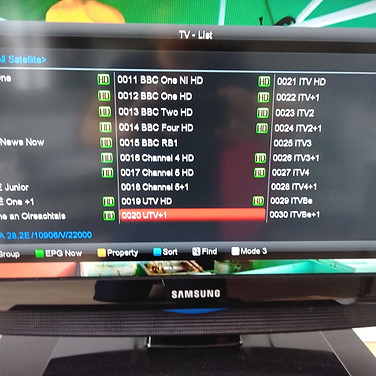 COMBI BOXES WE INSTALL HAVE 1 CHANNELS LIST IRISH CHANNELS FIRST FOLLLOWED BY BRITISH AMERICAN AND OTHER FOREIGN