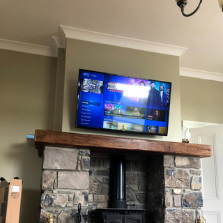 Tv wall mounting in Garristown Co Meath