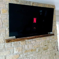 Tv mounted on the wall for a client from Athboy Co Meath