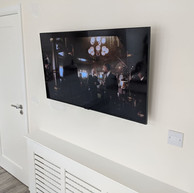 Tv mounted on the wall in Archerstown Ashbourne Co Meath