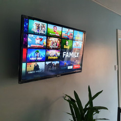 Saorview installation and tv wall mounting in Airbnb in Blessington Street  Dublin 1