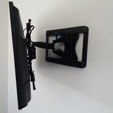 WE HAVE INSTALLED TV ON A WALL BRACKET FOR A CLIENT FROM JULIANSTOWN CO MEATH