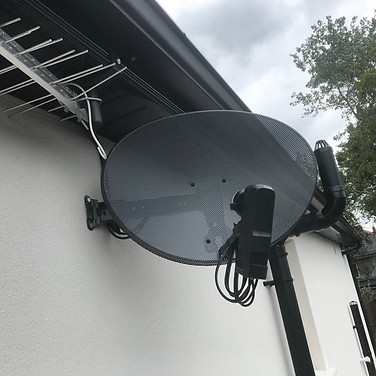2 FREE TO AIR AND SAORVIEW COMBO BOXES INSTALLED IN PALMERSTON VILLAS IN RAHMINES DUBLIN 6