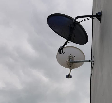 Satellite broadband and Saorview/Free to air installation in Ballyclough Co Cork