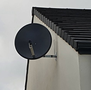 SOLID NON RUST SATELLITE DISH INSTALLATION IN  WHITEFIELD BETTYSTOWN COUNTY MEATH