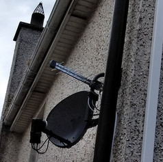 Satellite dish and Saorview installation in Race Hill Ashbourne