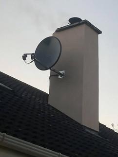 Solid satellite dish installation in Balrath Duleek Co Meath