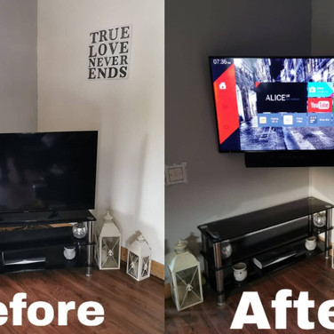 Tv wall mounting Carbury Co Kildare