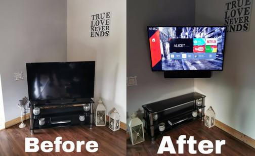 Tv wall mounting Carbury Co Kildare