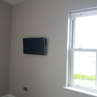 TV MOUNTED ON THE WALL FOR A CLIENT FROM CURRAGHA CO MEATH