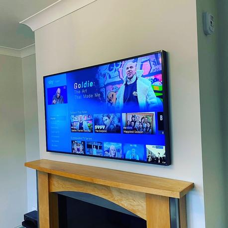 Sky tv installation