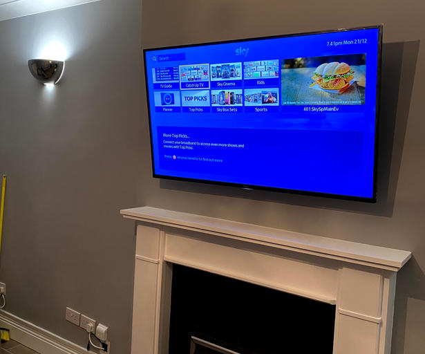 Tv installation in Ashewood, Ashbourne, Co Meath