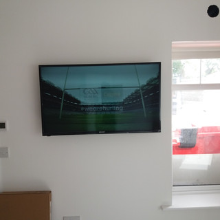 "We have supplied and installed Free to air/Saorview system for a commercial client in apartments in Frederick Street North Dublin 1 — in Dublin, Ireland.We have supplied and installed on the wall brackets 32"" and 43"" Walker satellite/smart/Saorview televisions with an access to 160 + Irish and foreign channels as well as You tube, Netflix and Amazon Prime — at Frederick Street North Dublin Ireland."