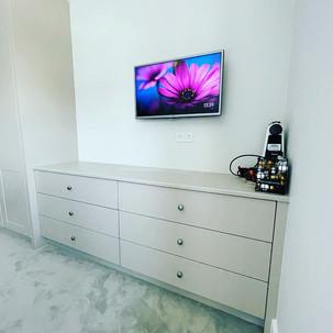 Tv installation in the bedroom in Stepaside, Dublin 18